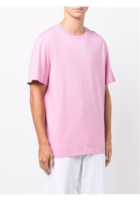 Pink t-shirt MSGM | 3140MM50021759813
