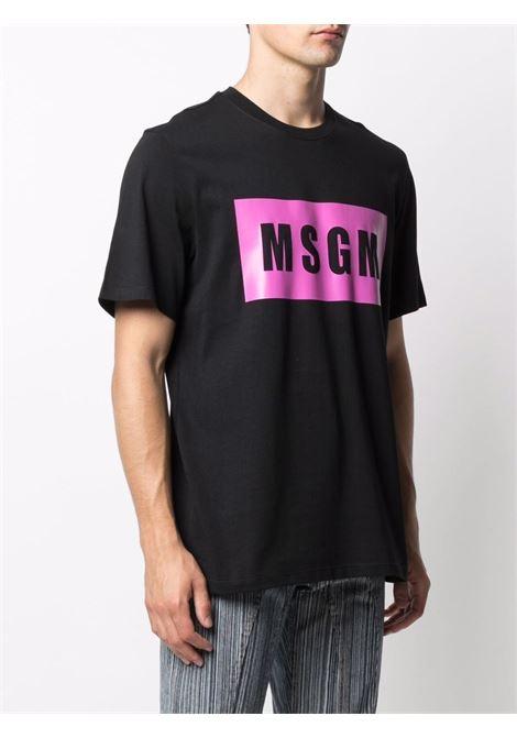 T-shirt nera MSGM   T-SHIRT   3140MM52021759899