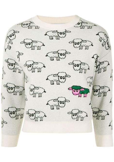 Maglione bianco NATASHA ZINKO | FW216030601WHITEBLACK