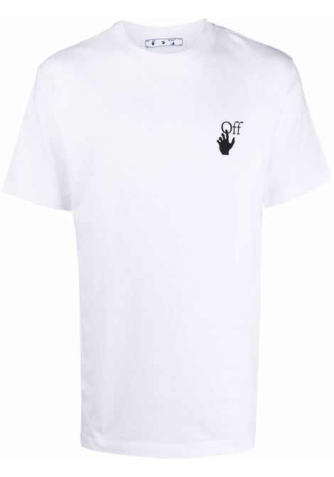 T-shirt bianca OFF WHITE | OMAA027F21JER0050110