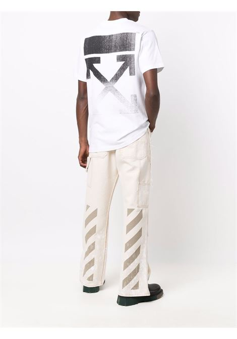 T-shirt bianca OFF WHITE | T-SHIRT | OMAA027F21JER0050110