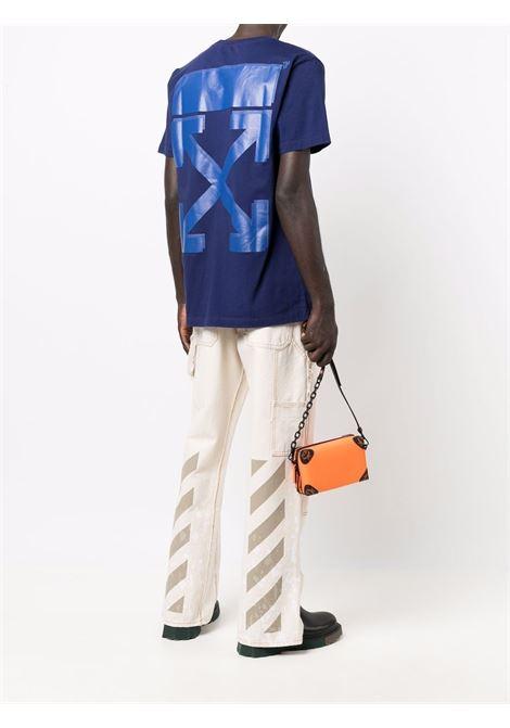 T-shirt blu OFF WHITE | T-SHIRT | OMAA027F21JER0074545