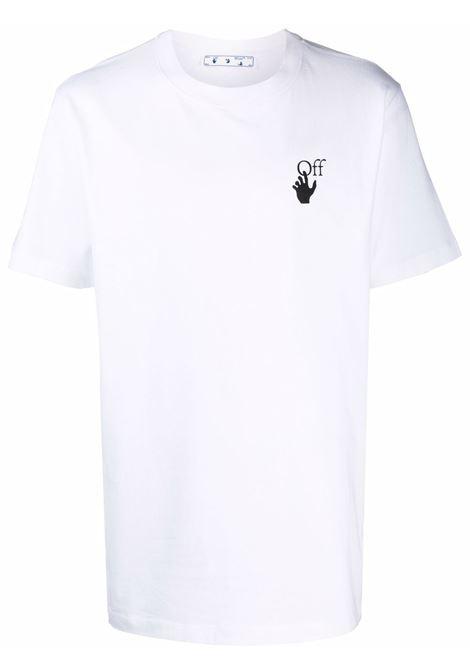 T-shirt bianca OFF WHITE | T-SHIRT | OMAA027F21JER0090110