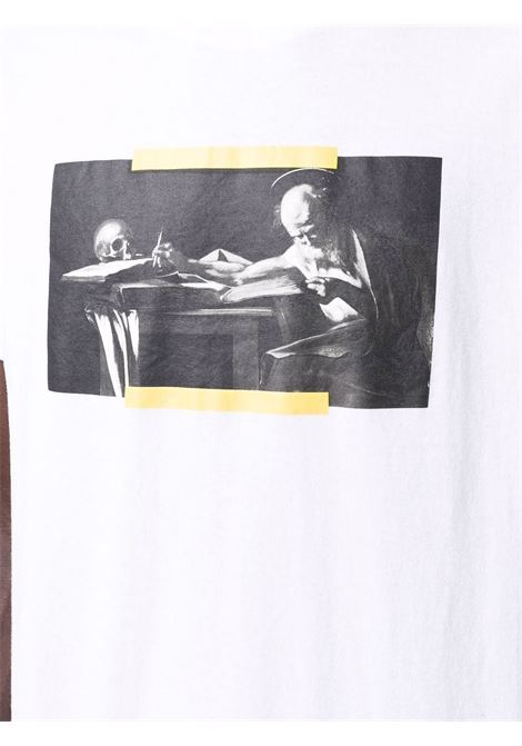 White t-shirt OFF WHITE | OMAA027F21JER0140184