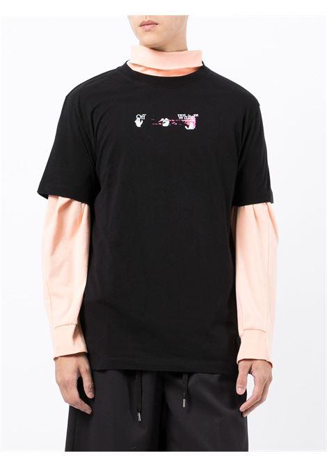 T-shirt nera OFF WHITE | T-SHIRT | OMAA027F21JER0171032