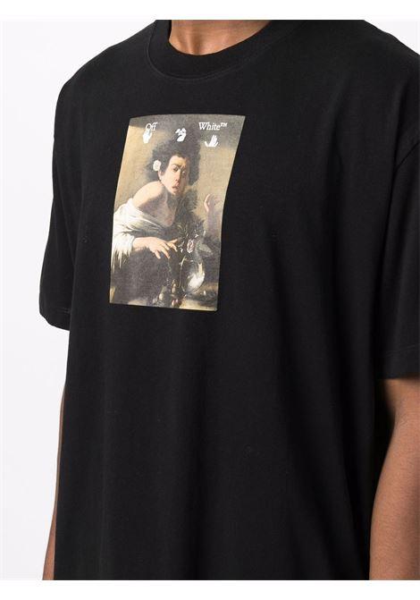 Black t-shirt OFF WHITE | OMAA038F21JER0051084