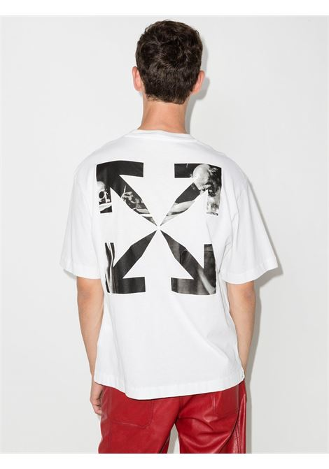 White t-shirt OFF WHITE | OMAA120F21JER0070110