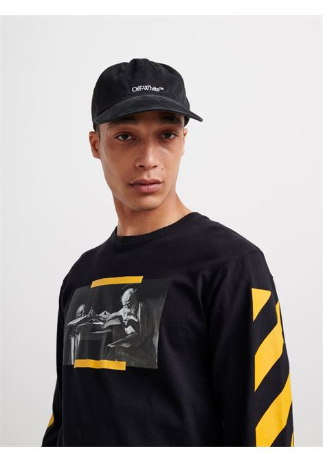 T-shirt nera OFF WHITE | T-SHIRT | OMAB001F21JER0041084