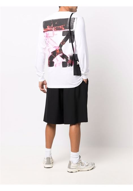 White t-shirt OFF WHITE | OMAB001F21JER0050132