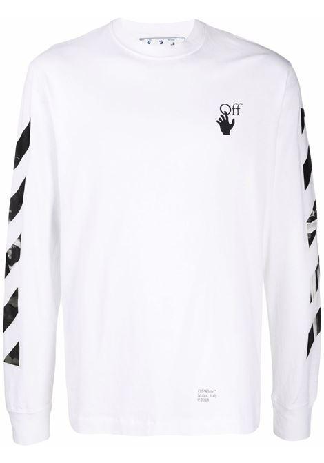 White t-shirt OFF WHITE | OMAB064F21JER0140110