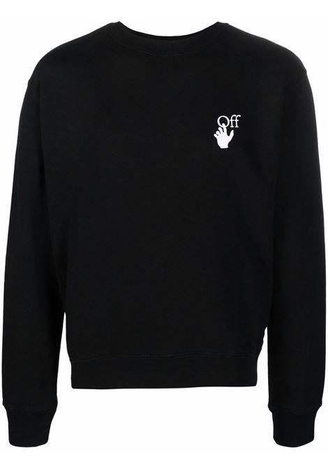 Black sweatshirt OFF WHITE | OMBA025F21FLE0081084