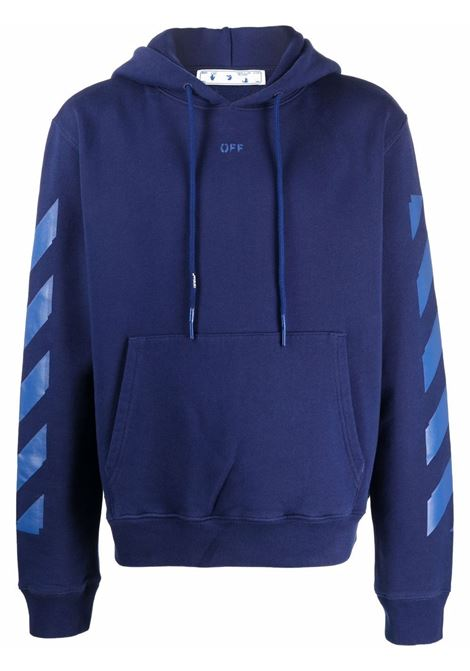 Felpa blu OFF WHITE | FELPE | OMBB034F21FLE0044545