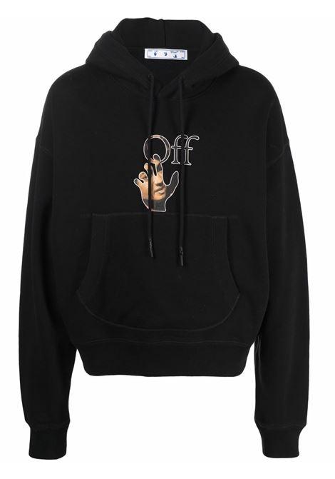 Black sweatshirt OFF WHITE | OMBB073F21FLE0021084