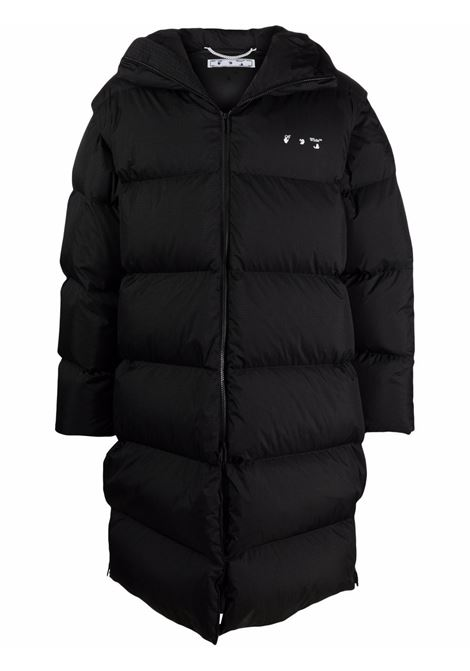 Black padded jacket OFF WHITE | OMED037F21FAB0011001