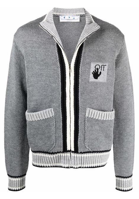 Grey cardigan OFF WHITE | OMHA126F21KNI0010907