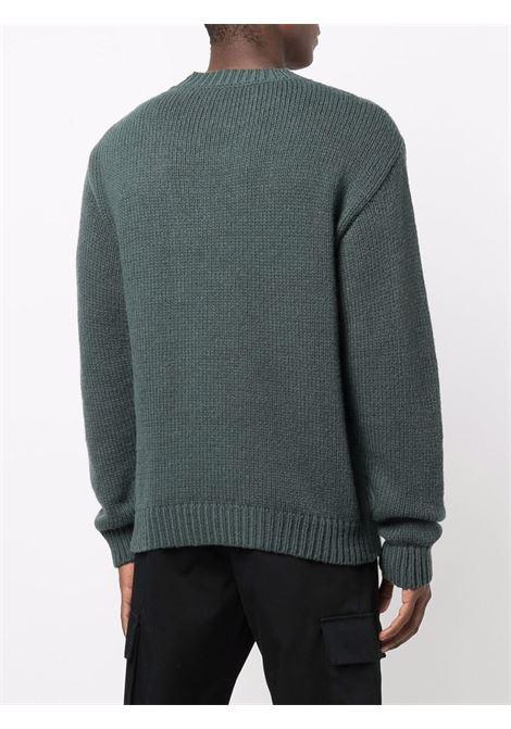 Maglione verde OFF WHITE | MAGLIONE | OMHE085F21KNI0015510