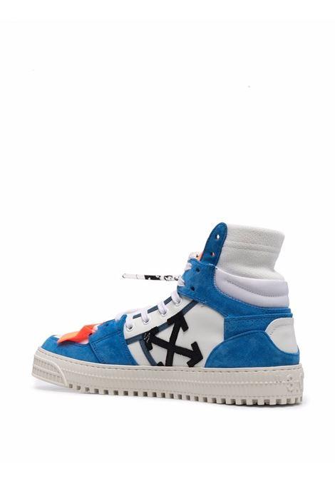 White/blue/orange sneakers OFF WHITE | SNEAKERS | OMIA065F21LEA0034510