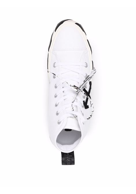 White/black sneakers OFF WHITE | OMIA119F21FAB0010110