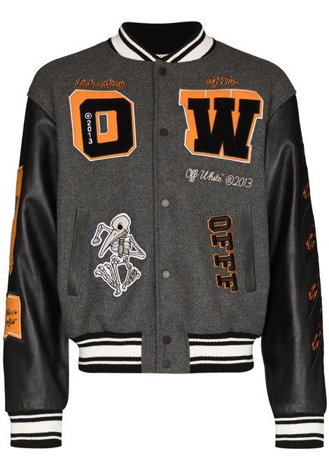 Grey jacket OFF WHITE | OMJA059F21LEA0010684