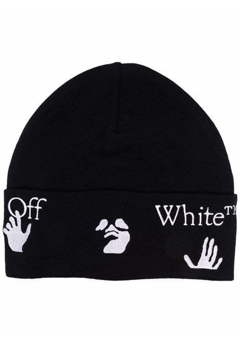 Beanie OFF WHITE | OMLC012F21KNI0011001
