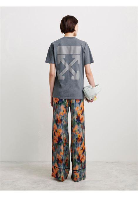 T-shirt grigio OFF WHITE | T-SHIRT | OWAA049F21JER0020909