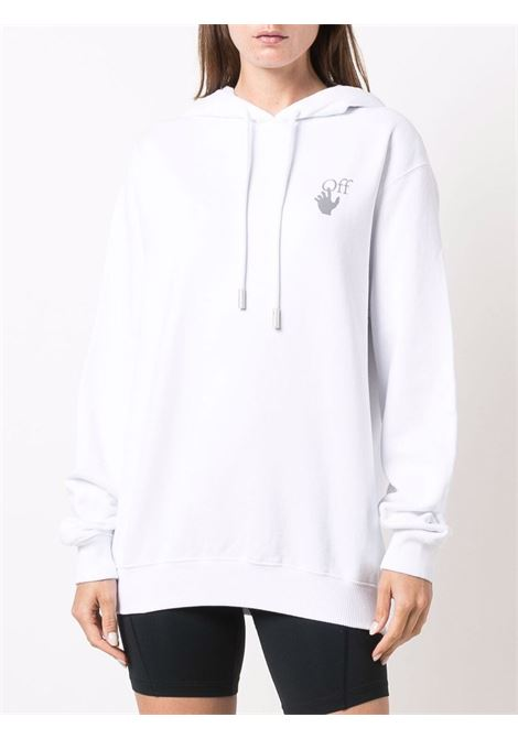 Felpa bianca OFF WHITE | FELPE | OWBB035F21JER0010184