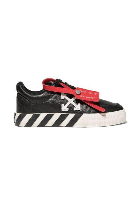 Sneakers nera OFF-WHITE KIDS | OGIA001F21LEA0011001