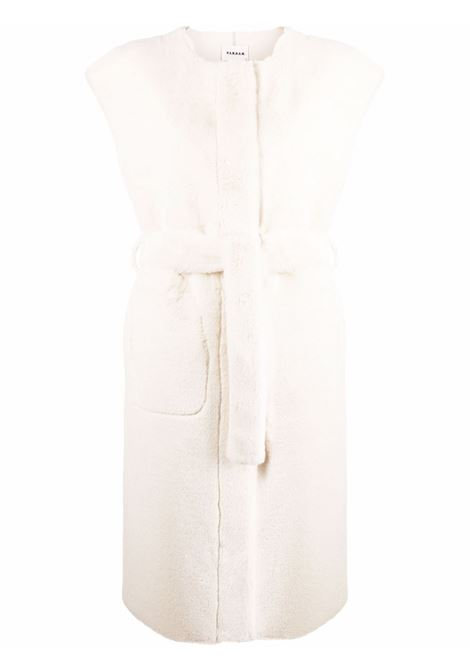 Gilet bianco P.A.R.O.S.H. | POUNDYD410530002