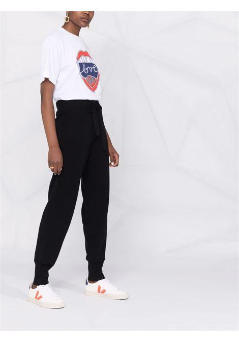 Pantalone nero P.A.R.O.S.H. | PANTALONI | WISPERD570546013