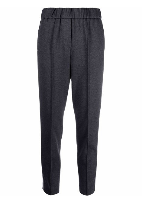 Pantalone nocciola/grigio PESERICO   PANTALONI   P04110J002356979