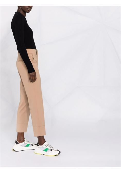 Pantalone marrone PESERICO   PANTALONI   P0462903465245
