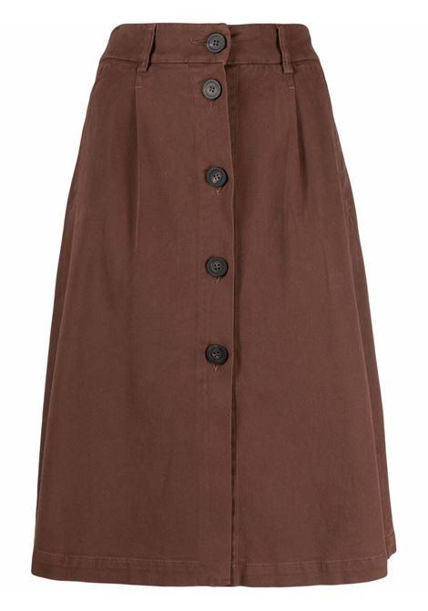 Brown skirt PESERICO | P05895T302487255
