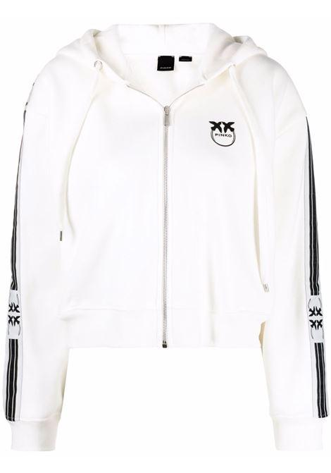 White sweatshirt PINKO | 1G16VVY7JPZ05