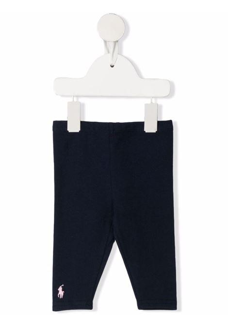 Leggings blu POLO RALPH LAUREN KIDS | LEGGINGS | 310552479003