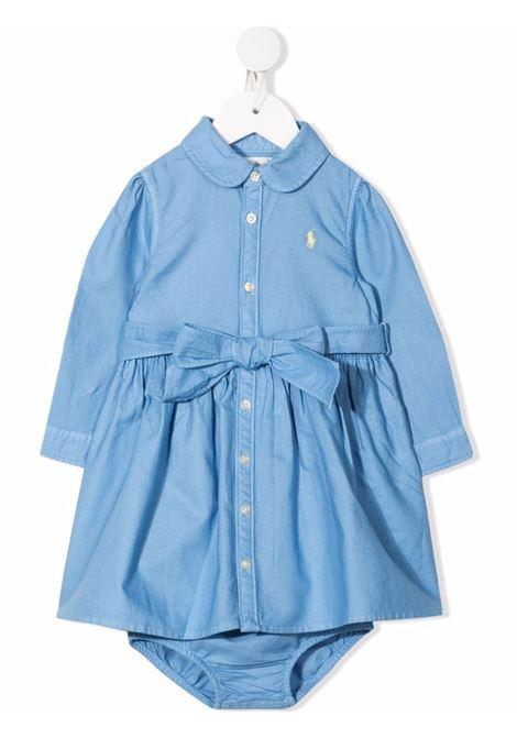 Abito azzurro POLO RALPH LAUREN KIDS | 310844767002