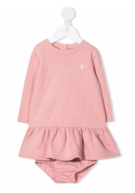 Abito rosa POLO RALPH LAUREN KIDS | 310851084004