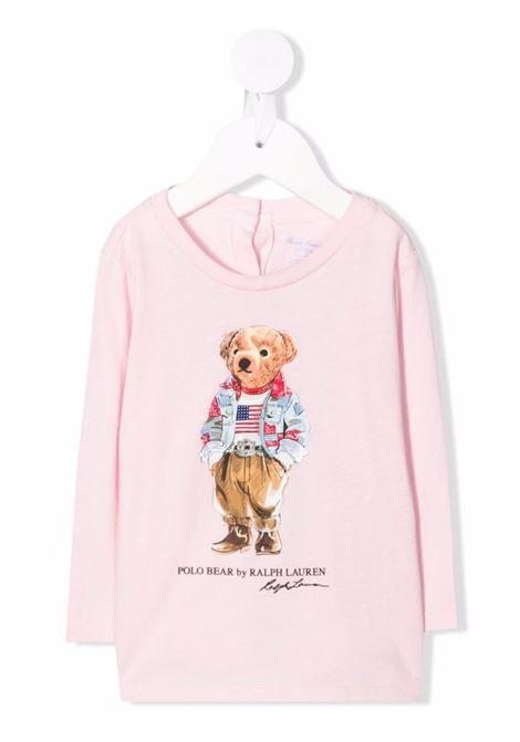 T-shirt rosa POLO RALPH LAUREN KIDS | 310854212001