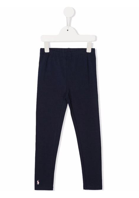 Leggings blu POLO RALPH LAUREN KIDS | 311552479004