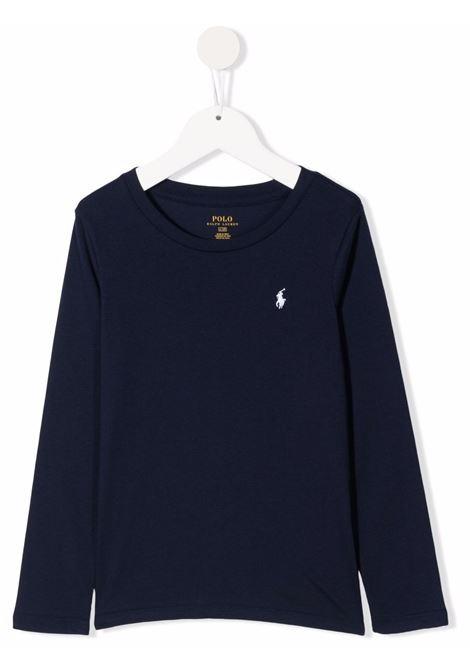 Blue t-shirt POLO RALPH LAUREN KIDS | 311841122007