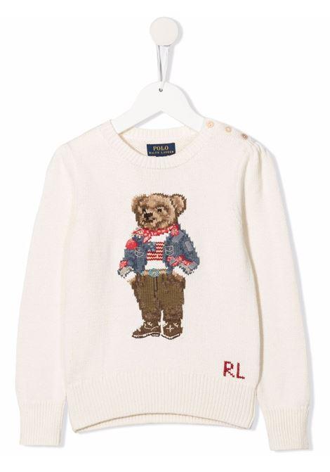 White jumper POLO RALPH LAUREN KIDS | 312850505001