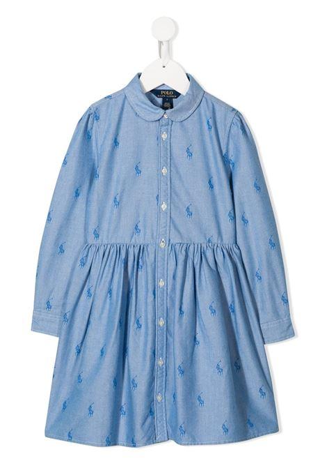 Blue dress POLO RALPH LAUREN KIDS | 313756657001