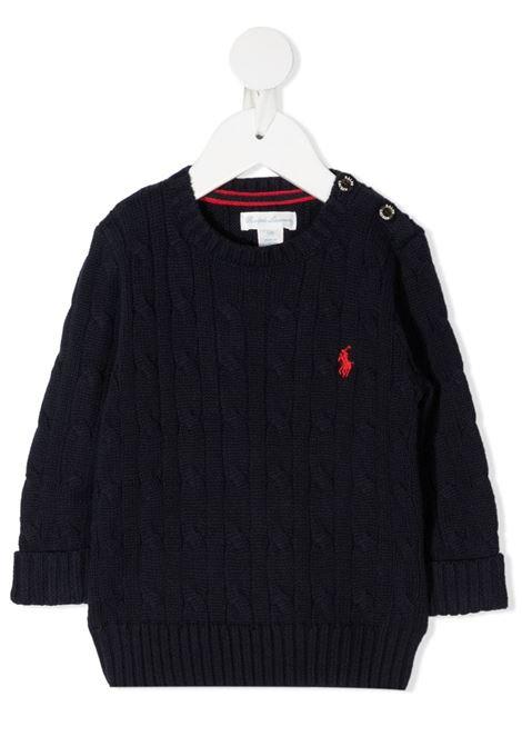 Maglione blu POLO RALPH LAUREN KIDS | 320702674008