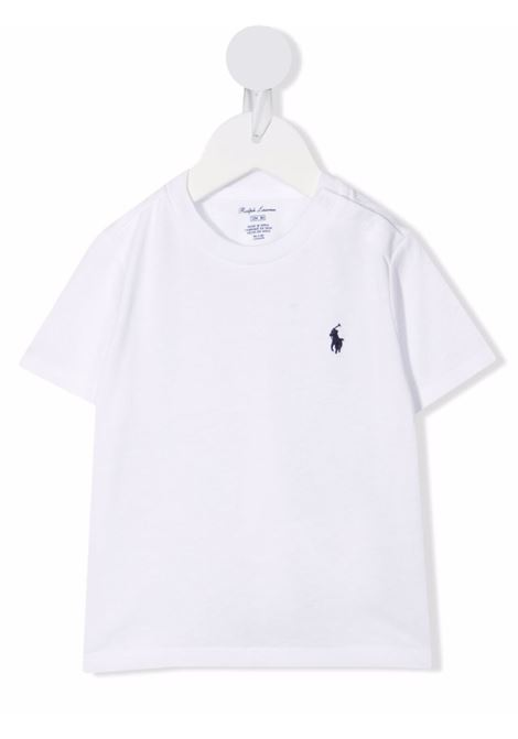 T-shirt bianca POLO RALPH LAUREN KIDS | 320832904033