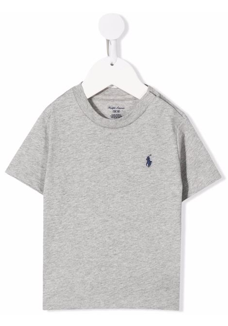 T-shirt grigia POLO RALPH LAUREN KIDS   320832904037