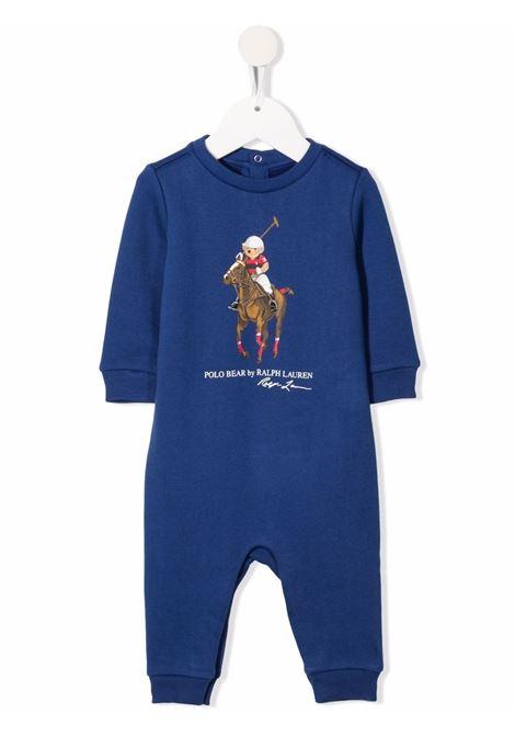 Tutina blu POLO RALPH LAUREN KIDS | 320855353001