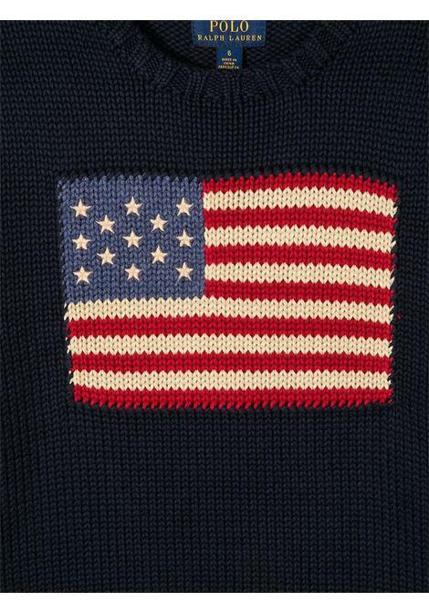 Maglione con bandiera POLO RALPH LAUREN KIDS | 323668285001