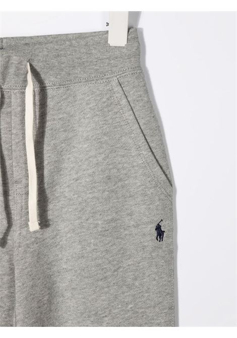 Pantalone grigio POLO RALPH LAUREN KIDS | 323720897004