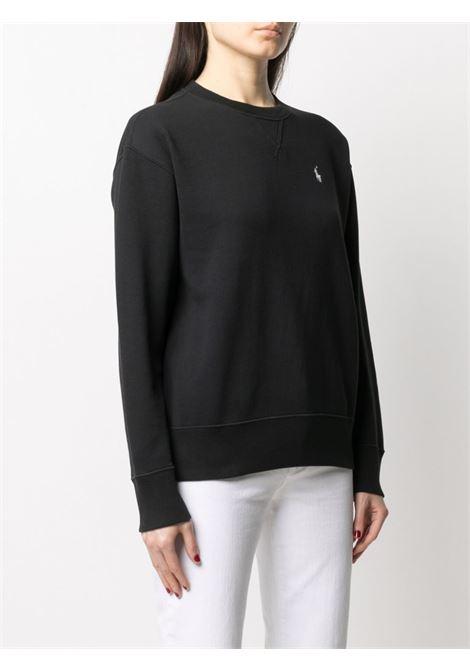 Black sweatshirt POLO RALPH LAUREN | SWEATSHIRTS | 211794395001