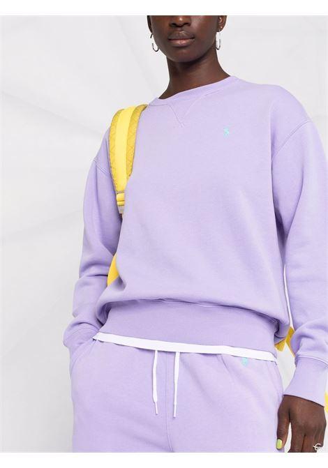 Lavander sweatshirt POLO RALPH LAUREN | SWEATSHIRTS | 211794395016