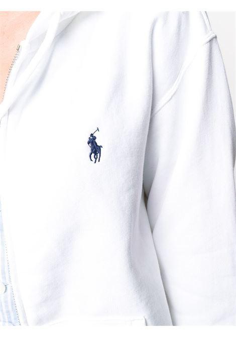 White sweatshirt POLO RALPH LAUREN | SWEATSHIRTS | 211794396002